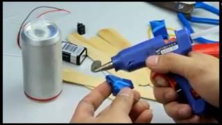 Membuat Kompresor mini Dengan Dinamo Kecil