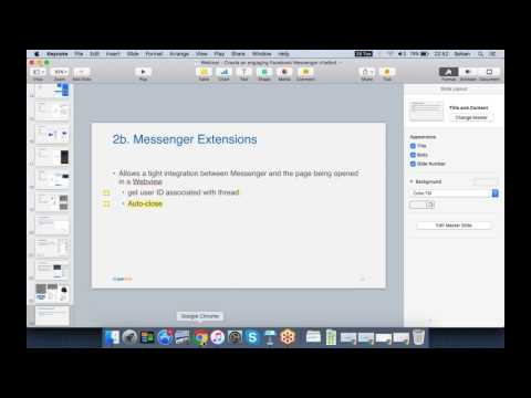 Create an engaging Facebook Messenger chatbot - Webinar