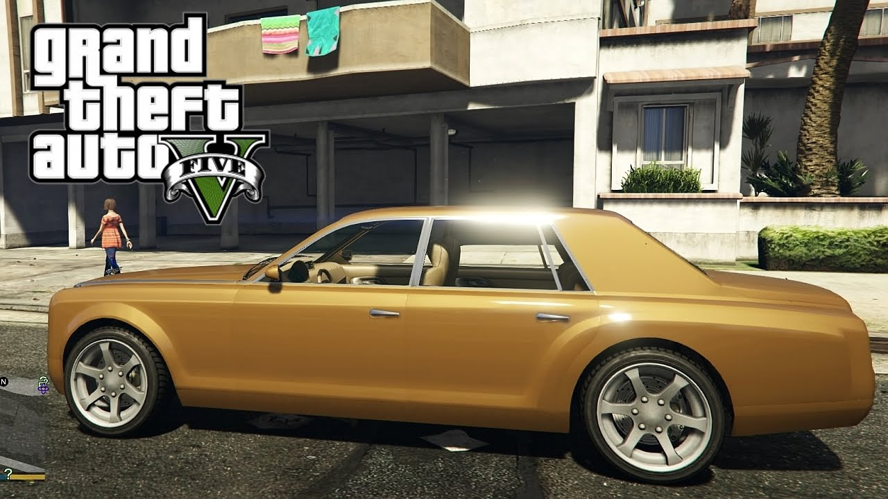 GTA V Next Gen PS4 - Enus Super Diamond Luxury Four-Door ...