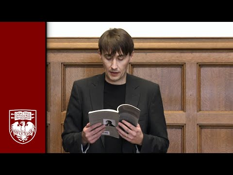 Ales Steger: Poetry Reading