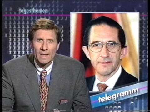 ARD Tagesthemen Telegramm Ulrich Wickert 8.3.1995