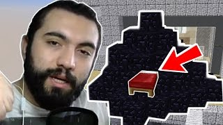 100 OBSİDYEN İLE BED KAPLAMAK !!! | Minecraft: BED WARS