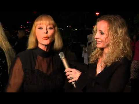Red Carpet Interview with Sybil Danning at Hollywood Park Casino Grand Re-Opening Nov. 11, 2011