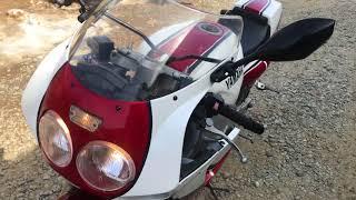 Видео запуска Yamaha FZR 1000