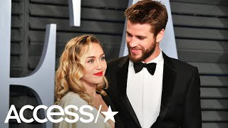 miley cyrus gave liam hemsworth a lot of action after he saved their animals from wildfire