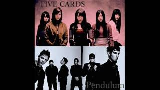 [Mash up] FIVE CARDS(欅坂46) vs Pendulum