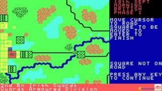 Arnhem gameplay (PC Game, 1987)