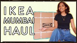 I Spent Rs 5000 At Ikea Mumbai  📦    Homeware Haul 🏠 // Magali Vaz