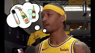 "NBA Players ""High"" Moments During Interviews"
