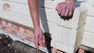 Строительство беседки из клееного бруса(Строительство деревянной беседки из бруса для дачи в