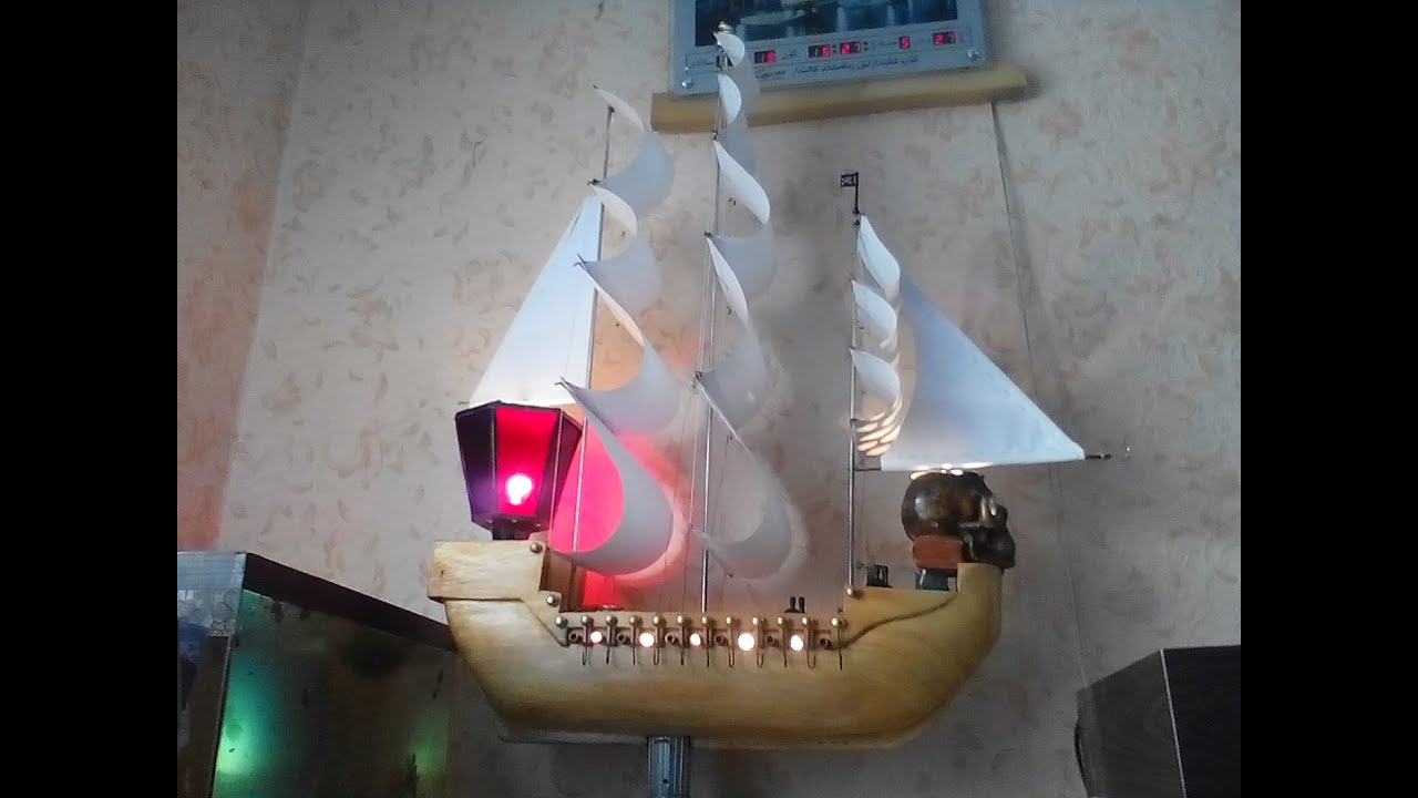 Корабль сделать своими руками из дерева