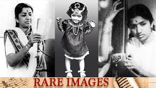 Lata Mangeshkar RARE Pictures with Family & Singers | Birthday Special