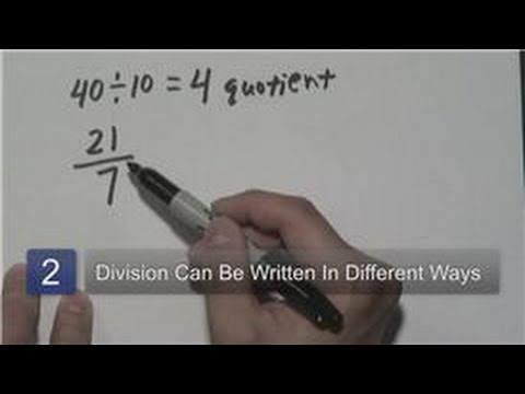 Mathematics : What Is a Quotient in Mathematics?