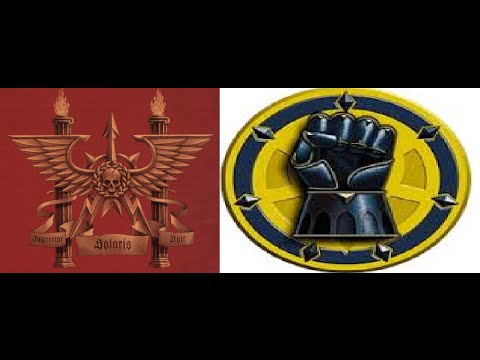 Battles in the Age of Darkness 1750 points: Solar Auxilia v.s. Legionnes Astartes Imperial Fists
