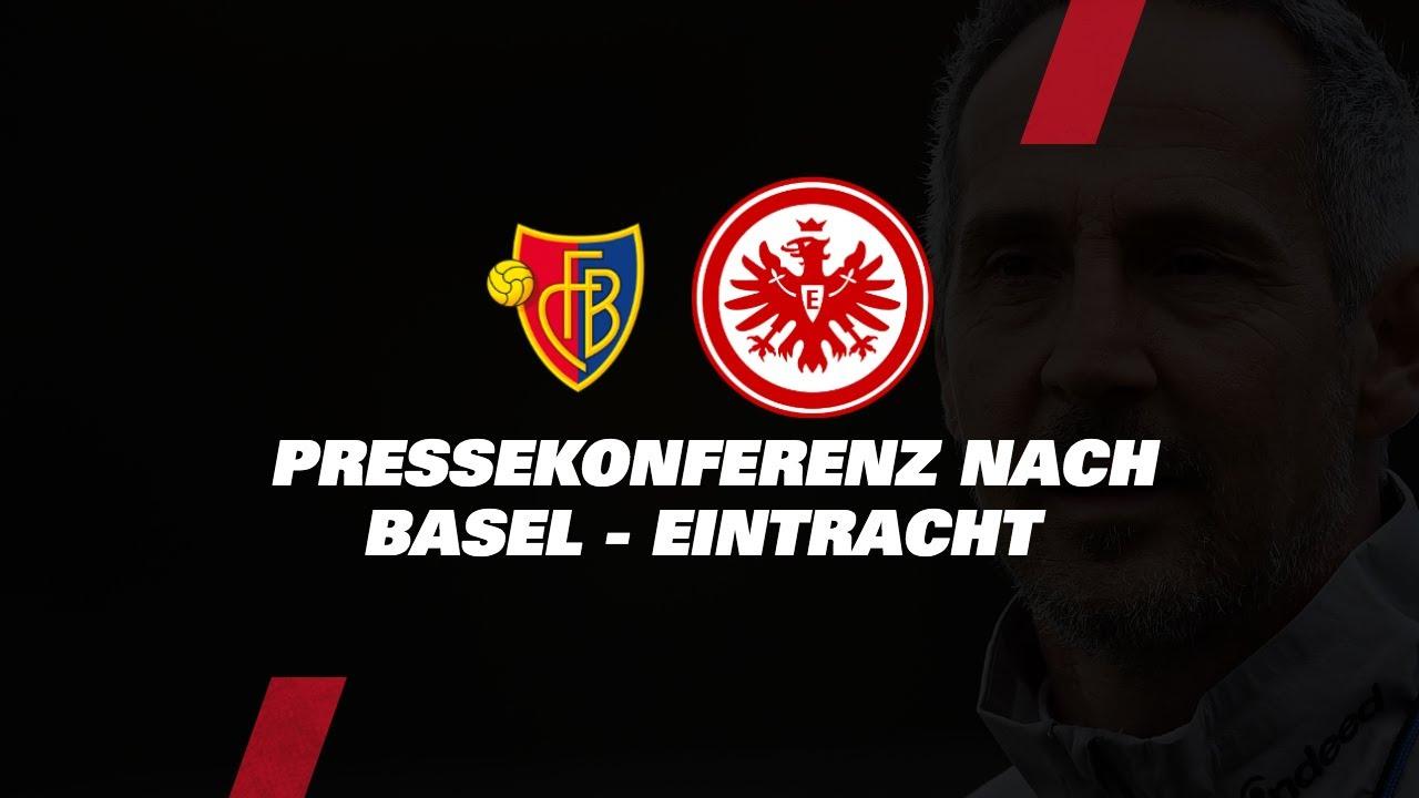 """""""Die Mannschaft hat alles versucht""""   PK mit Adi Hütter nach FC Basel - Eintracht Frankfurt"""