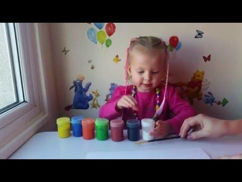 С днем рождения Дедушка! Мастер Класс Видео Как сделать открытку с отпечатками рук.Hand Made