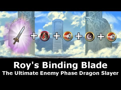 [FEH] Refined Binding Blade - The Ultimate Enemy Phase Dragon Slayer Build - Fire Emblem Heroes