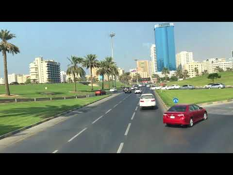 Amazing road in uae Sharjah