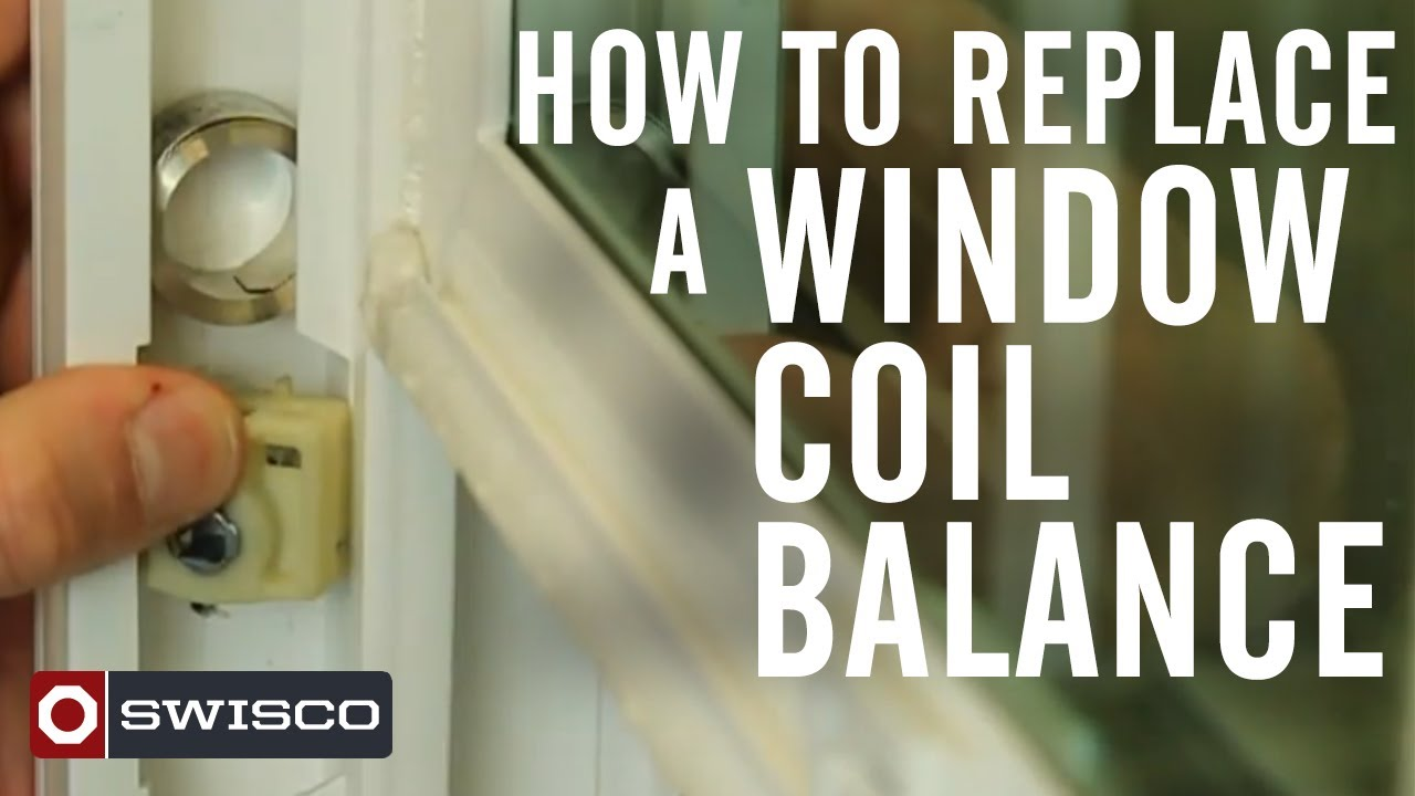 window balance replacement parts block how to replace window coil balance youtube