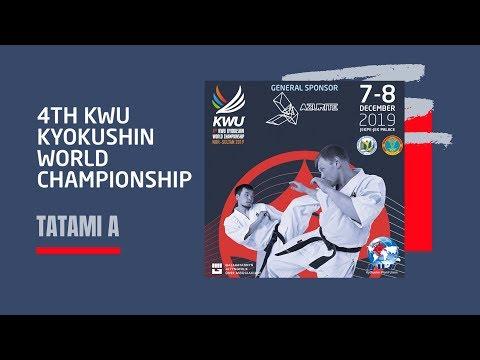 4TH KWU KYOKUSHIN WORLD CHAMPIONSHIP - 7 DEC 2019 / TATAMI A