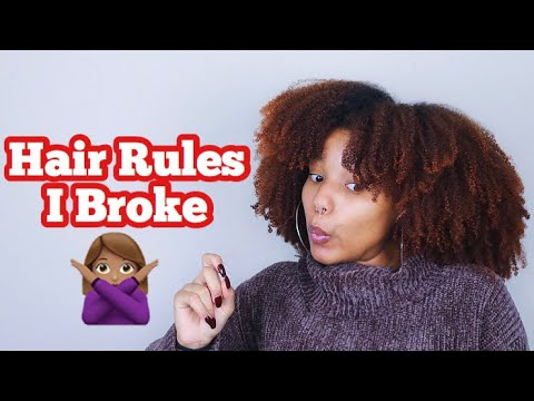 Rules to Follow When Coloring Textured Hair