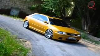 audi a3 1 8t zender gold yellow modified car hd