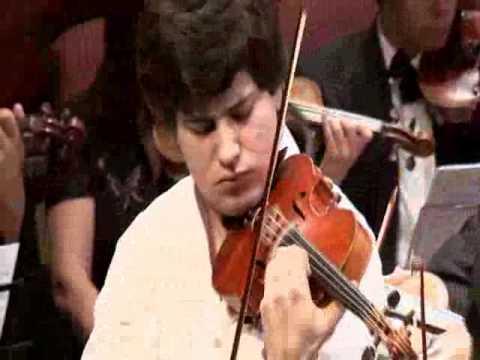 mikhail pochekin plays mendelssohn violin concerto 1
