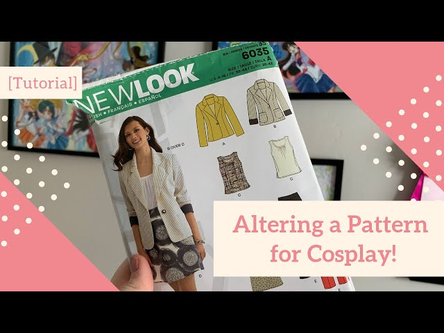 [Tutorial] Altering a Pattern for Cosplay