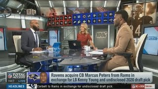 NFL Total Access: DeAngelo & Mike Rob React To Rams Trading Marcus Peters To Ravens
