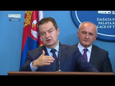 Pres konferencija: Dodik - Dačić
