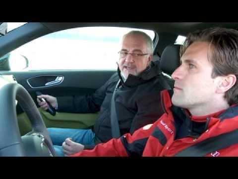 Autorevue: Mit dem Audi A1 und Markus Winkelhock auf der Rennstrecke