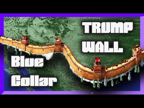 Donald Trump Wall and Blue Collar Workers - Destiny Debates