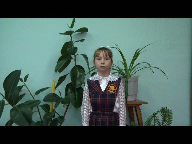 Изображение предпросмотра прочтения – АлинаКлестова читает произведение «Ворона и Лисица» И.А.Крылова