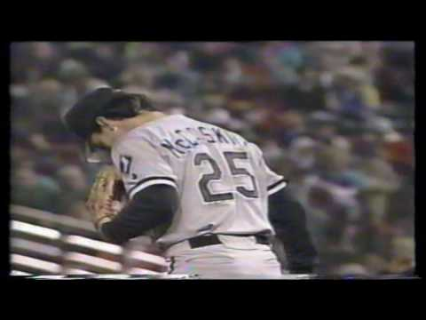 Chicago White Sox at Baltimore Orioles  05 08 1992