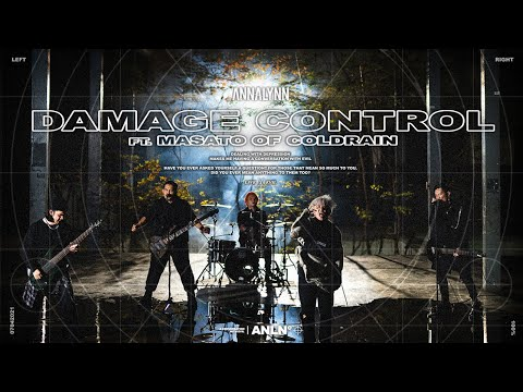 ANNALYNN - Damage Control (ft. Masato of coldrain)【Official Music Video】