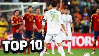 top 10 best cristiano ronaldo goals ever