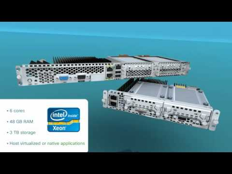 UCS E-Series Blade Servers For ISR G2