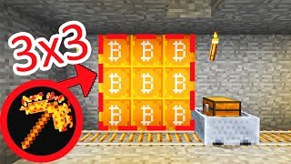 КРИПТОГОРОД! МЫ СМОГЛИ СОЗДАТЬ КИРКУ БОГОВ МАЙНИНГА 3х3 ! Minecraft