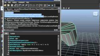 Maya: Creating a MEL Script and Adding it to the Shelf