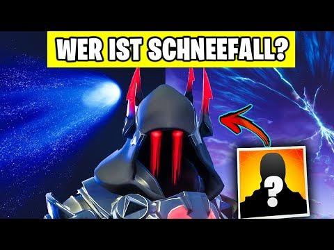 Wer steckt hinter SCHNEEFALL? ❄️ Die GANZE Geschichte | Fortnite Story Deutsch German