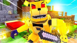 Golden Freddy Bed Wars ?! | Minecraft FNAF Roleplay