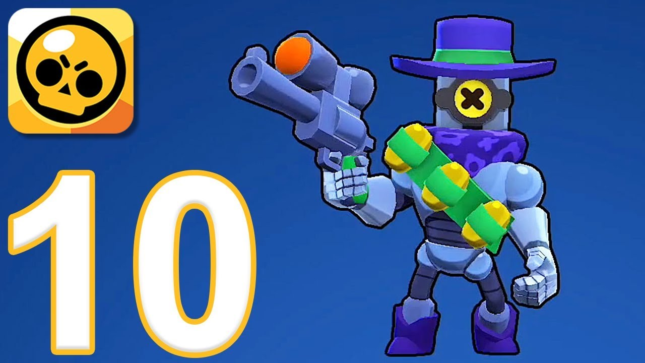 Brawl Stars Gameplay Walkthrough Part 10 Ricochet Ios