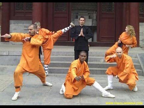 Shaolin Temple Kung-fu Training Monk Shiofu Prabhakar Reddy Best Wushu Warrior Training Camp