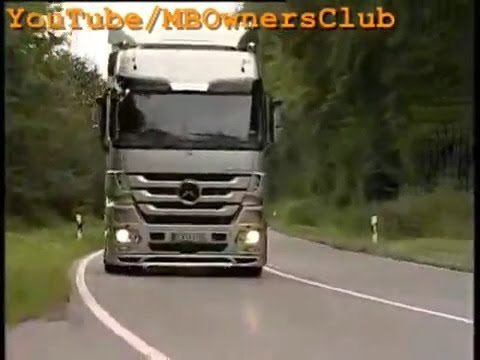 Mercedes-Benz Actros | The Replacement Of Instrument Cluster In A Mercedes-Benz Actros