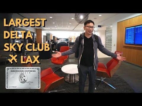 Best Delta Club At LAX (T2): Free W/ Amex Platinum (Delta Flights)
