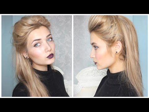 Back To School || Cute & Easy Half Updo Hairstyle