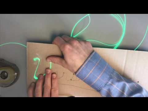 How to Make a Light-up sign from Versalume & Fibrance