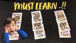 Tutorial #3 - King Queen Jack Magic Card Trick