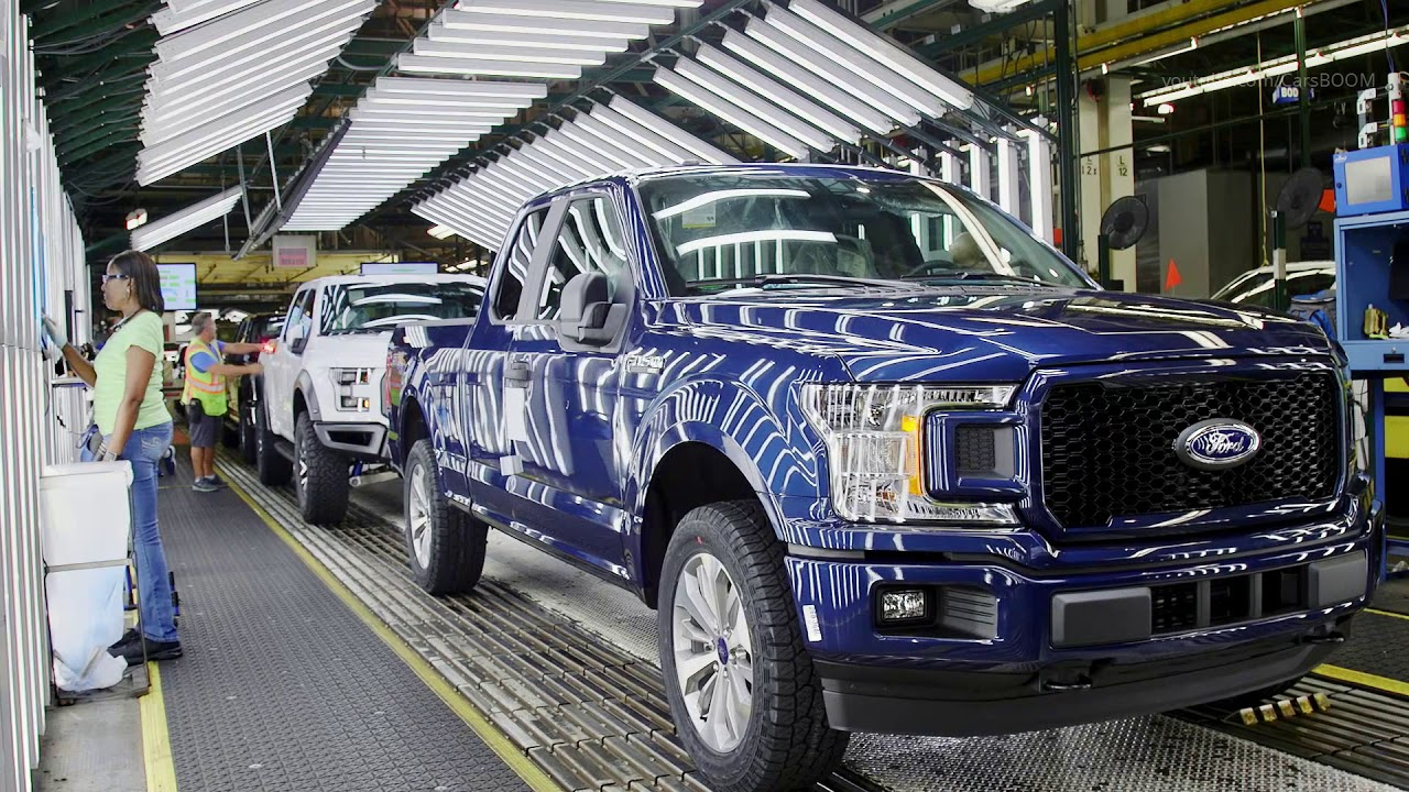 Ford Factory 2019 F 150 Production At