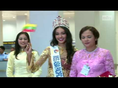 mitv - Miss Asia Pacific World: Myanmar Brings Home Crown